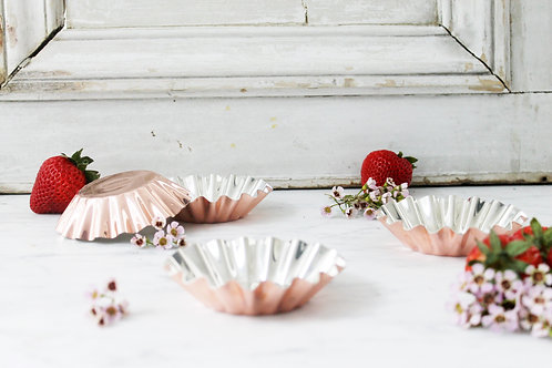 Coppermill Kitchen French Inspired Tartlet Moulds