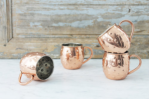 Coppermill Kitchen Polka Dot Mugs, Set of 4