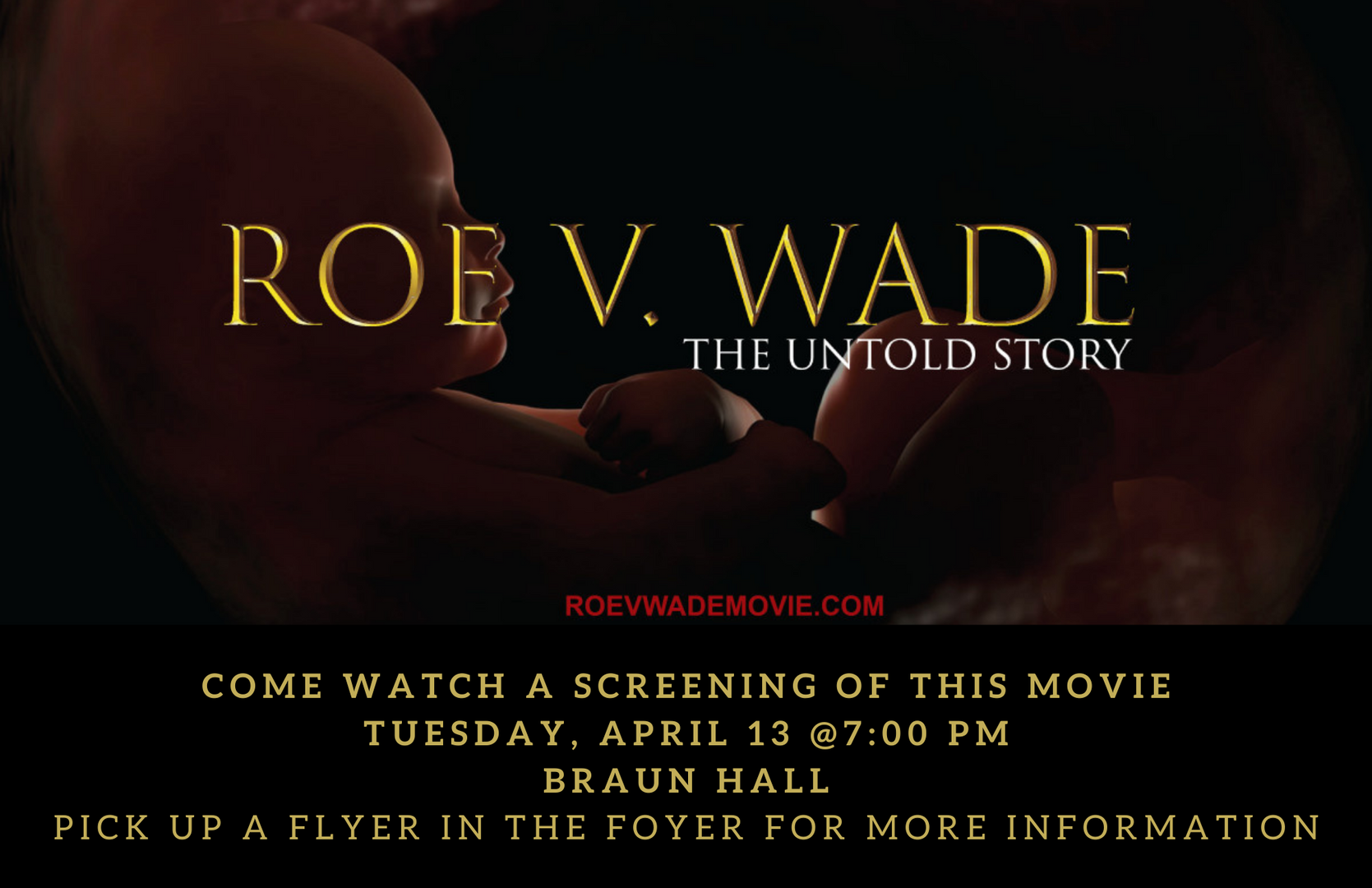 Roe vs Wade Movie Screening