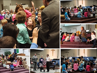 Children's Sermon with Timothy