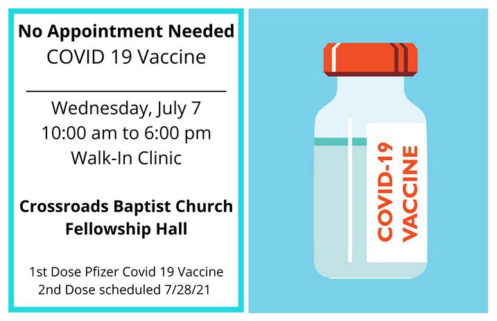 COVID 19 Vaccine Clinic