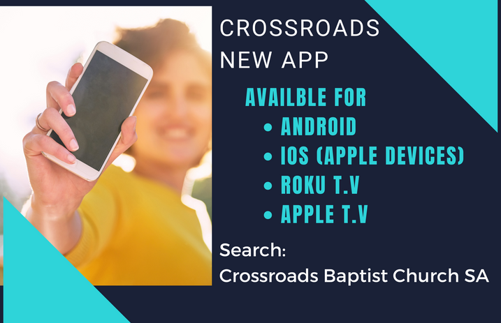 Crossroads New App