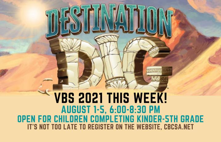 VBS 2021 Destination Dig