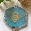 Thumbnail: Kingfisher & Peach Bee Coaster