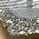 Thumbnail: Frosty Grey Silver Heart Coaster