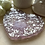 Thumbnail: Frosted Thistle Silver Heart Coaster