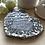 Thumbnail: Stone Grey Silver Heart Coaster