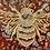 Thumbnail: Coppery Blush Bee Coaster
