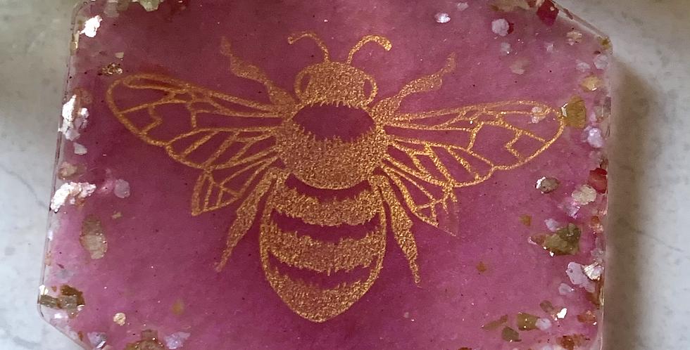 Burlesque Bee Coaster