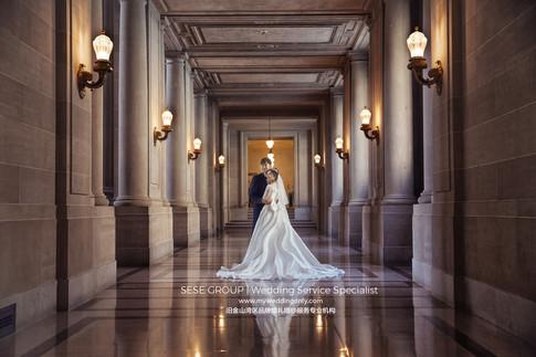 旧金山市政厅结婚领证全攻略!来旧金山市政厅拍婚纱照怎么拍?