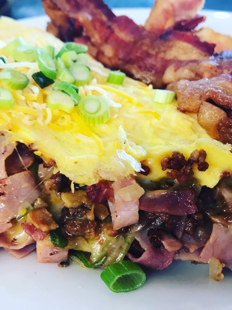 Meat Lover's Omelette