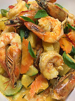 Signature Shrimp w/ Pineapple Red Curry