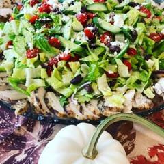 Big Greek Chicken Salad