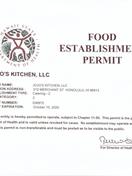 Food Permit