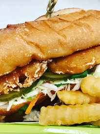 Beer Battered Fish Sandwich