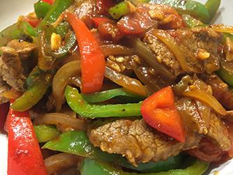 Pepper Steak Stirfry