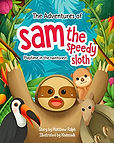 Sam the Speedy Sloth book cover image.jp