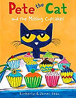 Pete the Cat Missing Cupcakes Book Cover