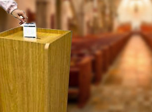 Offering Box in church snctuary.jpg