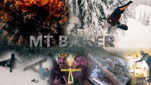 Half Banked at Mt.Baker