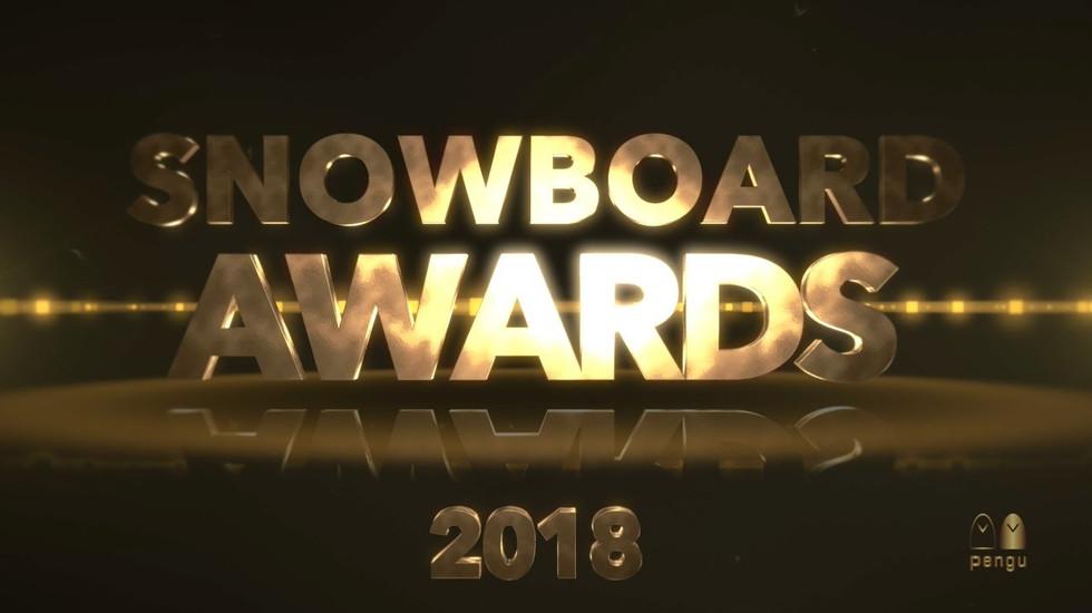 Snowboard Awards 2018