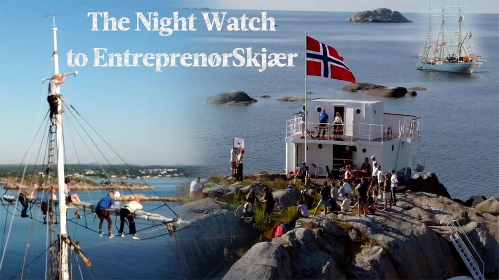 The Night Watch to EntreprenørSkjær