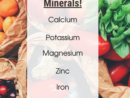 Minerals! Do you know them?