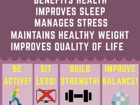 The benefits of physical activity for adults