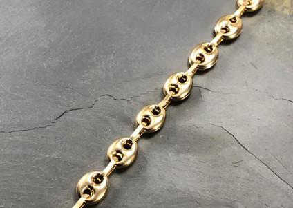 Pulsera Oro Amarillo 18k Boton Gucci