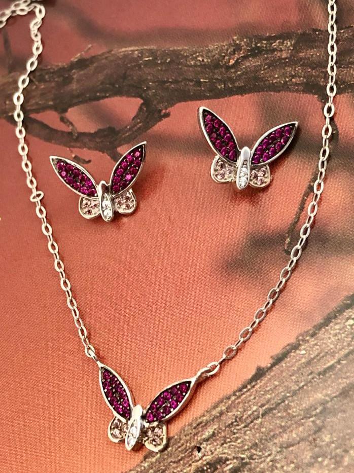 Topos Plata Minimariposa Circon Fusia