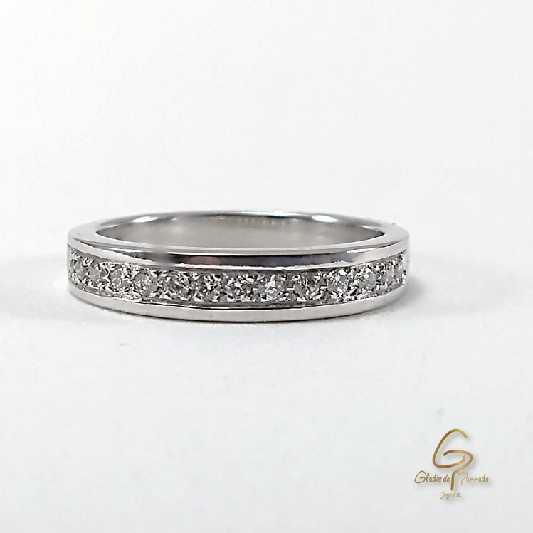 Argolla O.B 18k Diamantes
