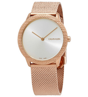 Reloj unisex Minimal Quartz Silver Dial K3M22U26