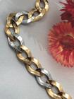 Pulsera Oro Bicolor Argollas