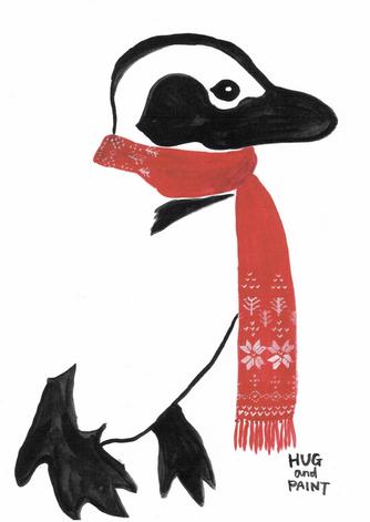 ペンギン(ホリデーデザイン