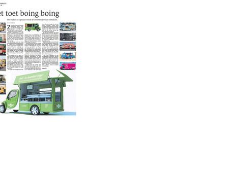 Mooi artikel in Leeuwarder Courant over de toekomst van de foodtruck !