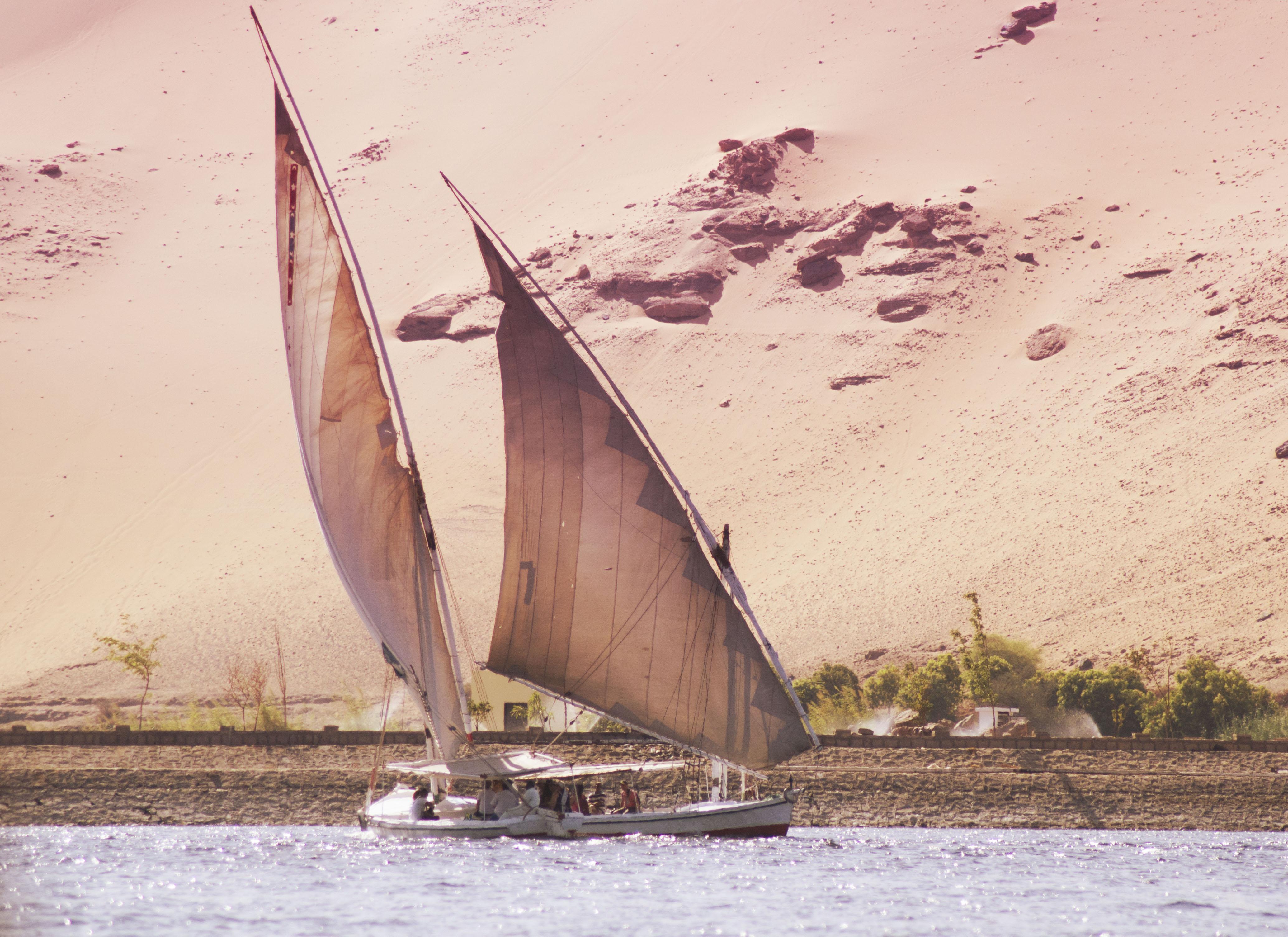 Felouque in Egypt