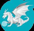 Logo dragon ludothèque