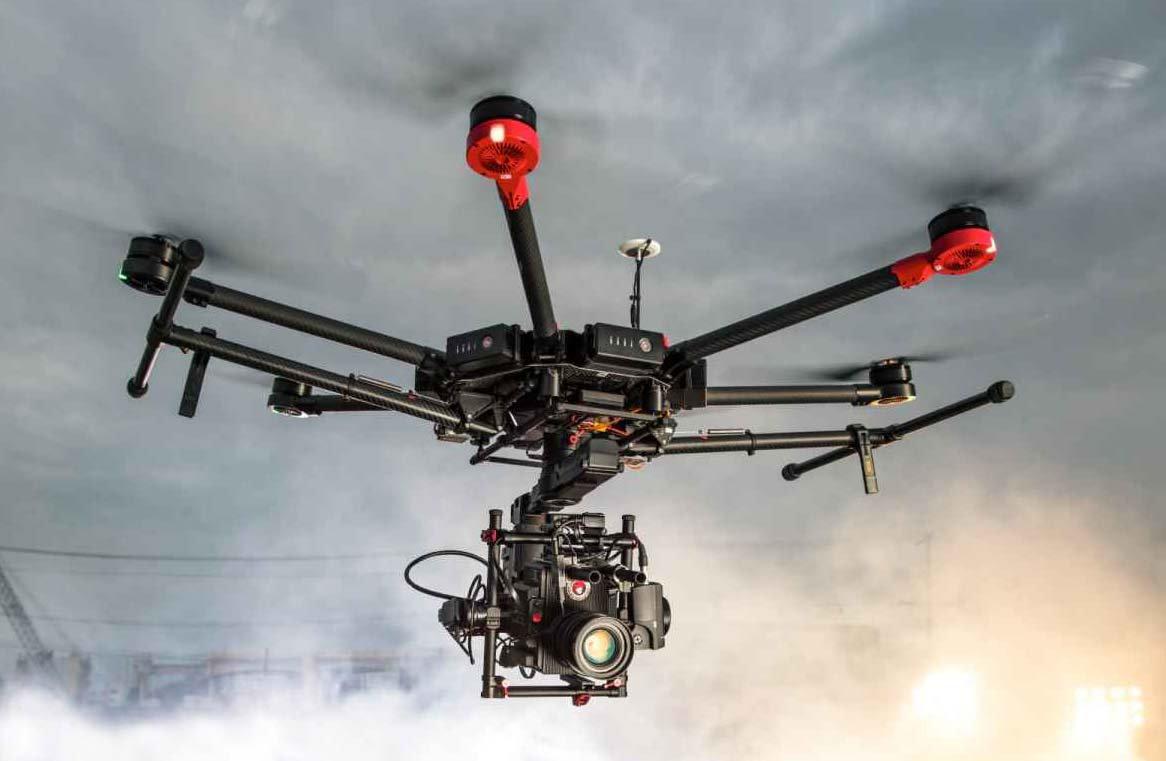 Fotografia aerea e videoriprese per clip