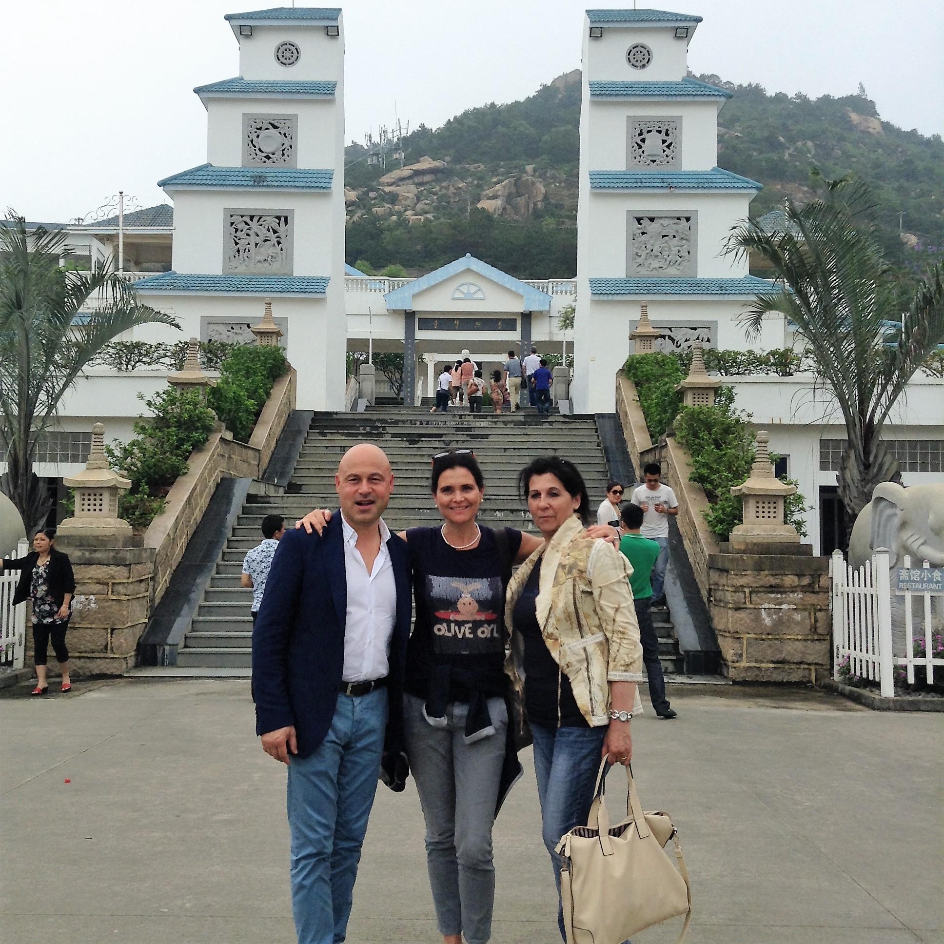 Tour in Cina con Santoni Spirtis