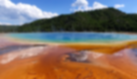 Grand Prismatic Spring at Yellowstone National Park, USA