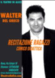 Locandinane insegnati 2019 WALTER DEL GR