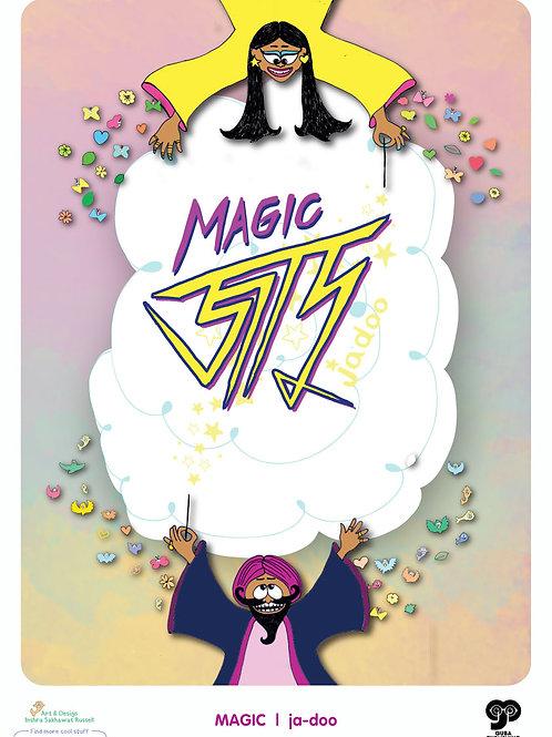 Bengal Bilingual Poster - Magic/ Jadoo