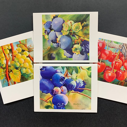 Harvest - 4 Card Set by Mary Burgess