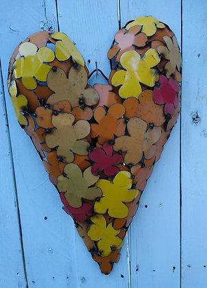Yellow Orange Heart
