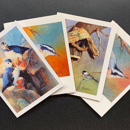 Birds # 2 -4 Card Set by Mary Burgess