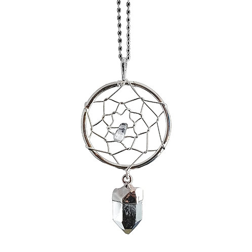 Quartz Dreamcatcher Necklaces