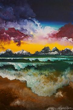 """""""Emerald Ocean"""" © Alyssa Skyes"""