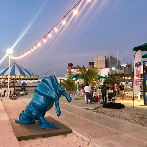 art-boardwalk-merida-yucatan-mexico-vaca