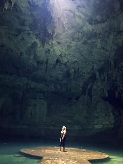 A Cenote in Vallodolid