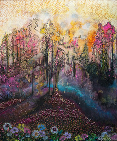 """Fuchsia Lair"" © Alyssa Skyes"